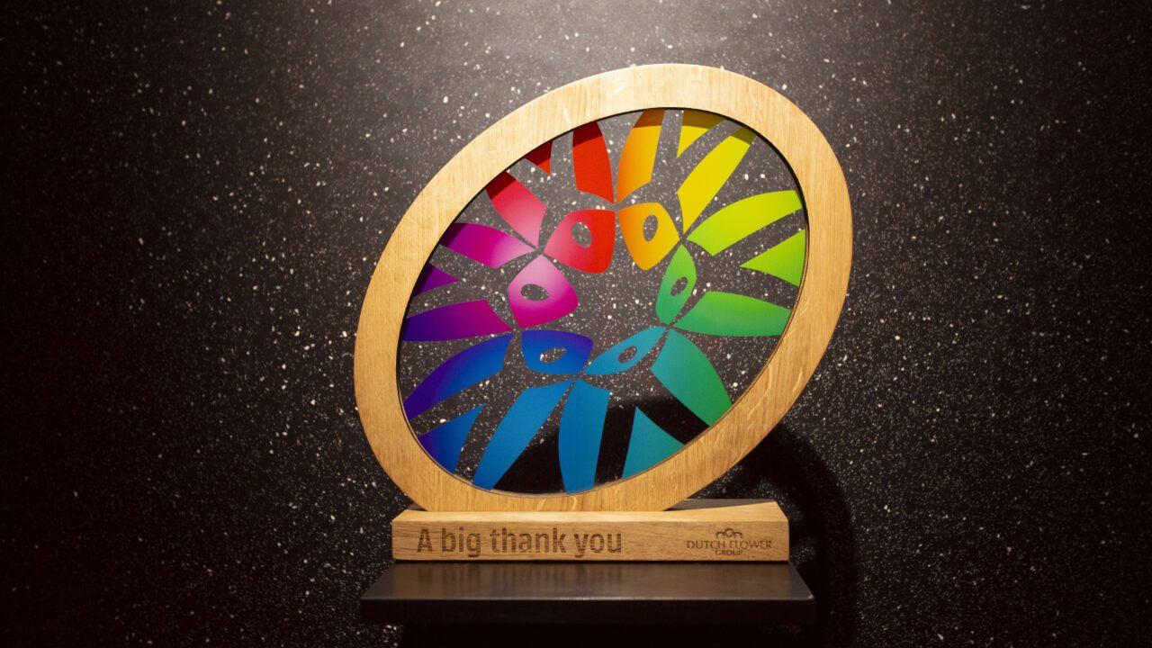 Big thank you Award 2020 - Dutch Flower Group