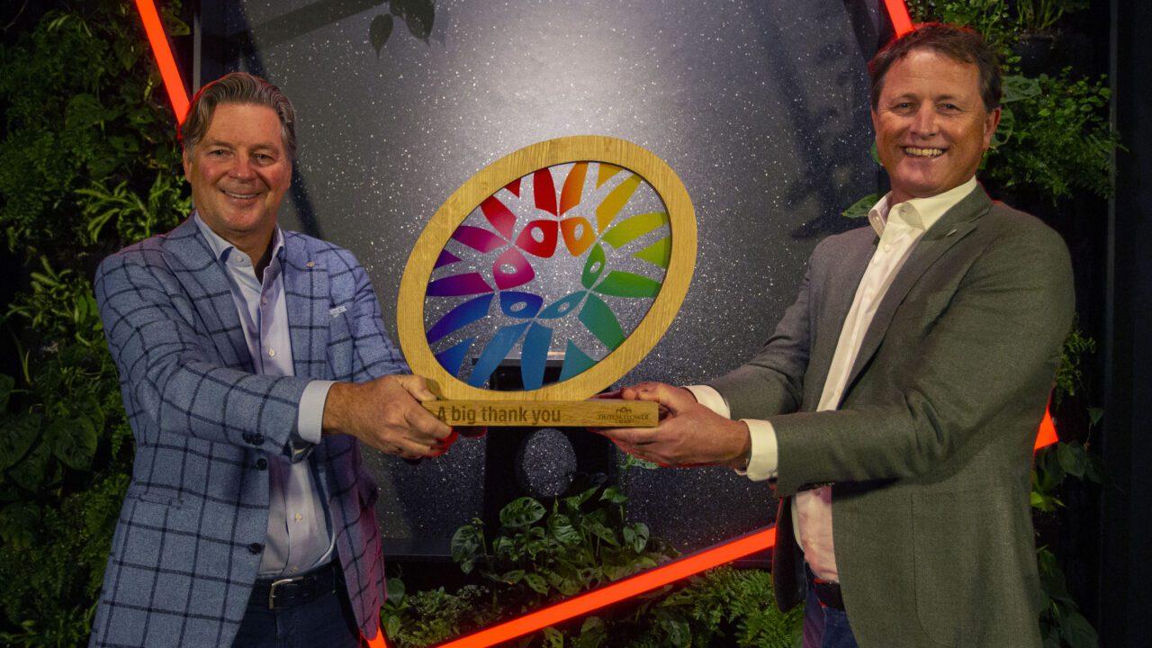 Big thank you Award 2020 - Marco van Zijverden & Jan van Dam