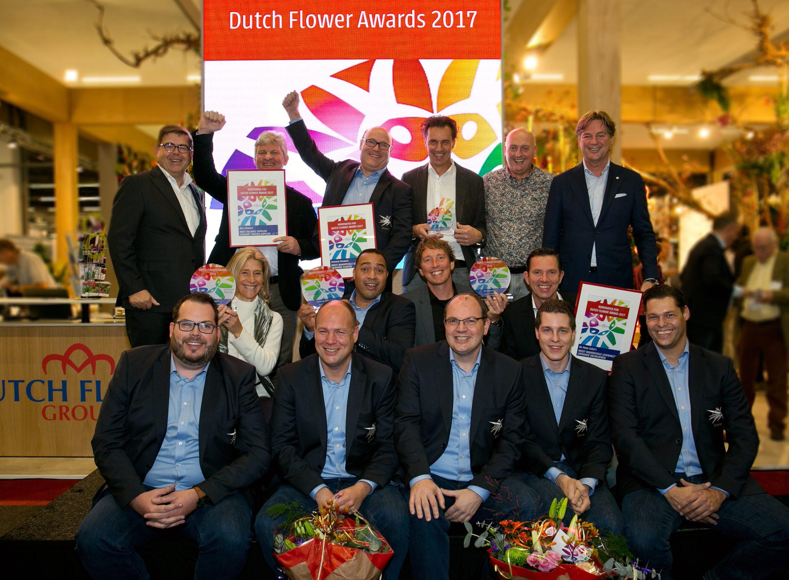 Winnaars Dutch Flower Awards 2017_foto